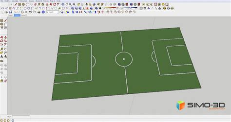 sketchup layout entry point not found how to create this field for football with sketchup