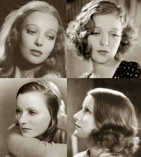 1937 hair for women women s hair 30 s and 40 s 1930s hairstyles face changes glamourdaze