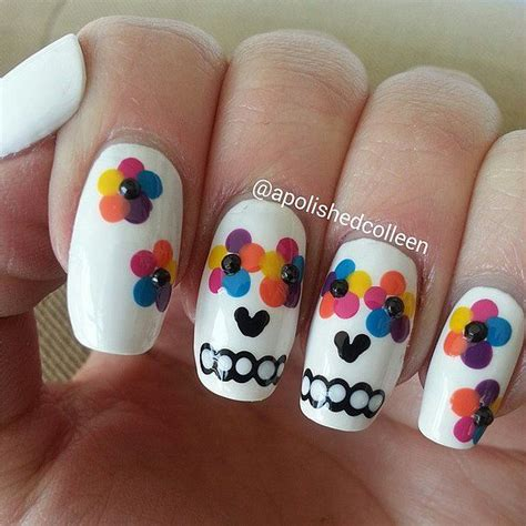 easy nail art halloween 100 halloween nail art design ideas just for you