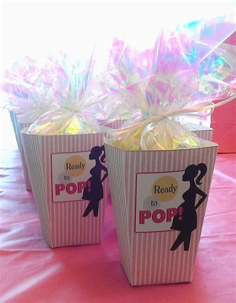 Ready To Pop Baby Shower Favors by Baby Bump Bundle 10 Baby Shower Favors