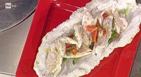 come cucinare la spigola al sale spigola al sale ricetta gianfranco pascucci da prova cuoco