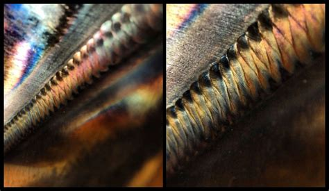colors and what they colors in welds and what they