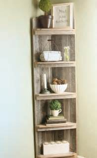 Own corner shelves by following the step by step instructions here
