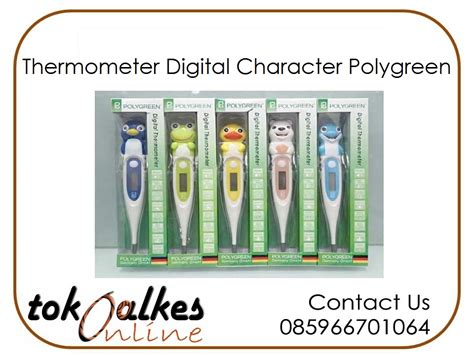 Termometer Digital Polygreen by Thermometer Digital Character Polygreen Toko Alat