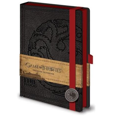 game  thrones targaryen premium notebook