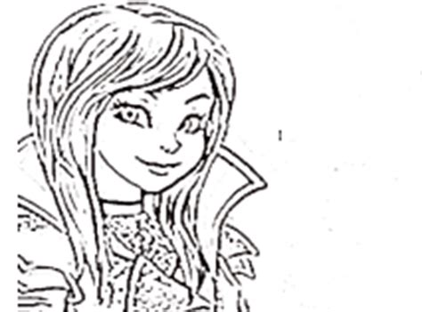 descendants coloring pages of mal coloring games games online
