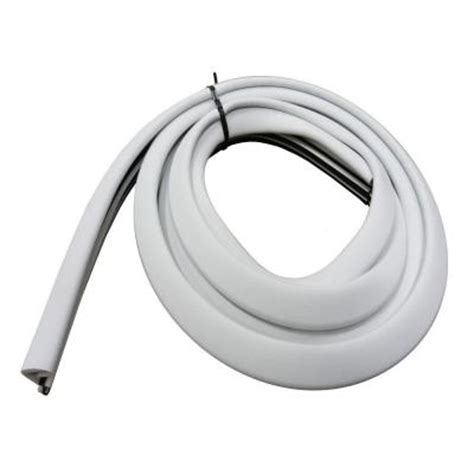 84 in platinum white collection door weatherstrip