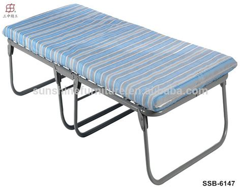 portable twin bed portable heavy duty single twin size steel cing bed