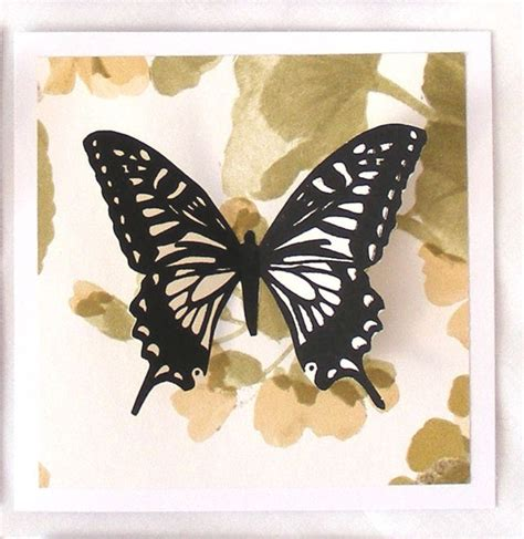 Handmade Cards With Butterflies - butterfly collage card handmade upcycled map