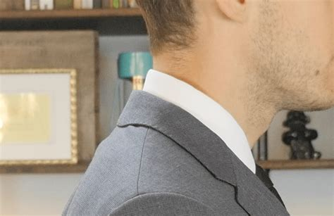 how tight should a collar be how should a suit fit s clothing fit guide