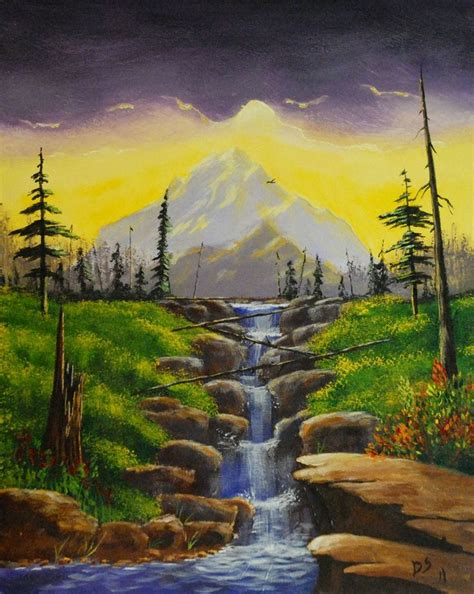 acrylic painting landscape 35 best painting canvas ideas landscapes images on
