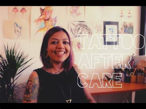 tattoo aftercare youtube tattoo aftercare monica gomes monitattoo youtube