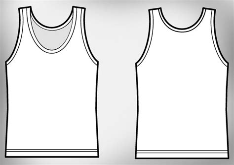 girl tank top t shirt template free download t shirt