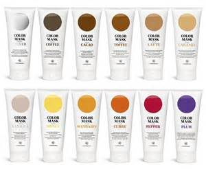 colored masking hair color masks by bob helsinki packaging design