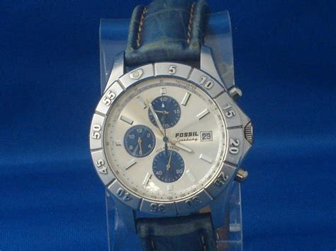 F Ssil Speedy S Watches Fossil Speedway Mens Ch2391 Silver