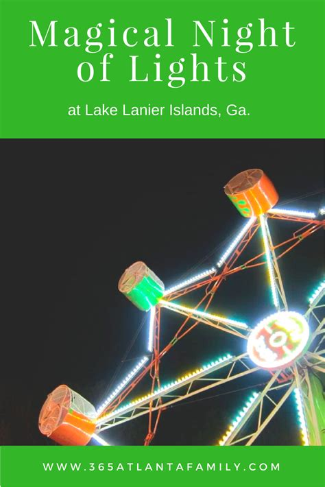 lake lanier lights a magical night of shimmering fun