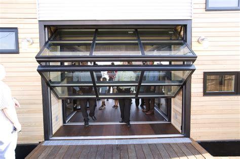 glass garage doors for indoor outdoor living photos contemporary garage doors