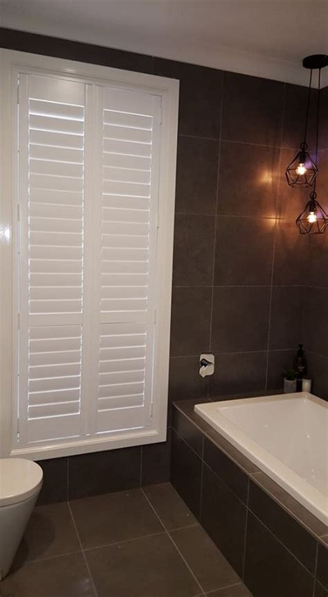 shutters in bathroom pvc shutters in a bathroom photo shade elegance nsw blinds shutters sydney nsw