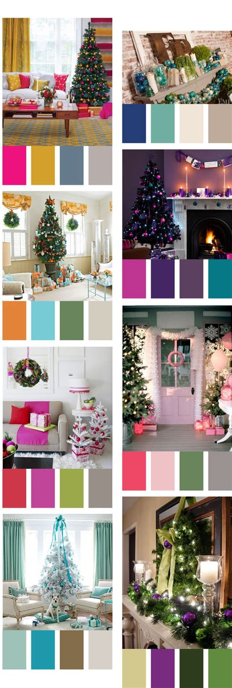 colour themes for christmas 2015 remodelaholic decorating with non traditional christmas