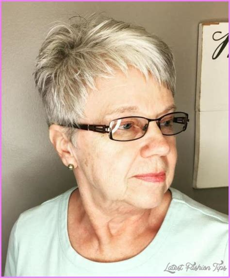 Hairstyles For Glasses by Hairstyles For 50 With Glasses