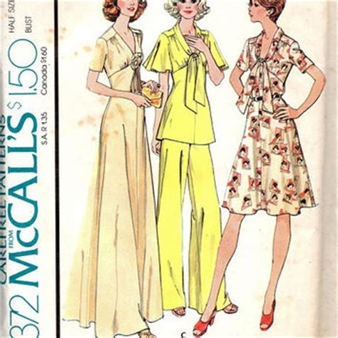 Mccall Butterfly Sleeve Dress by Retro Disco Style 70s Mccall S Sewing From Adele Bee