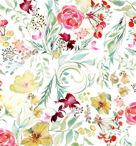 watercolor pattern floral watercolor floral wedding stationery and artworkmomental