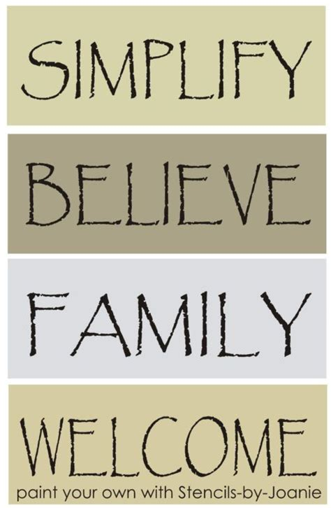printable stencils sayings free primitive stencils templates primitive sayings