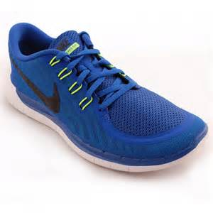 nike 5 0 running shoes tony pryce sports nike free 5 0 s running shoes blue