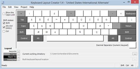 keyboard layout international an alternate us international keyboard layout code for life