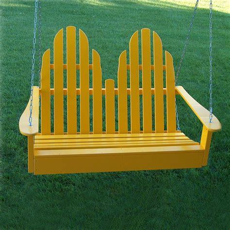 yellow porch swing shop prairie leisure design buttercup yellow porch swing