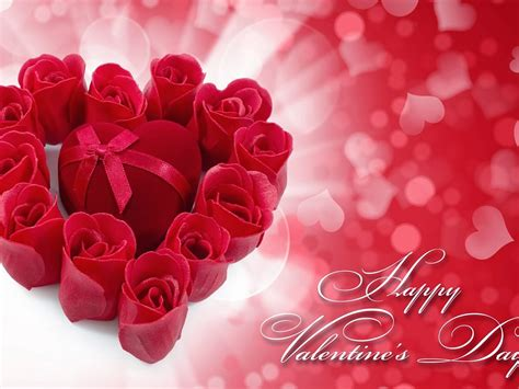 happy valentines day heart  heart red hd wallpaper