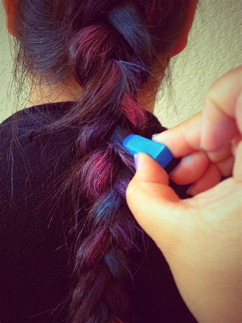 Hair Chalk Pastel Soft Pastel simply crafty chalked hair simply evani