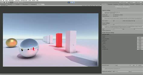 unity tutorial offline offline renderer for unity captures scenes to multi