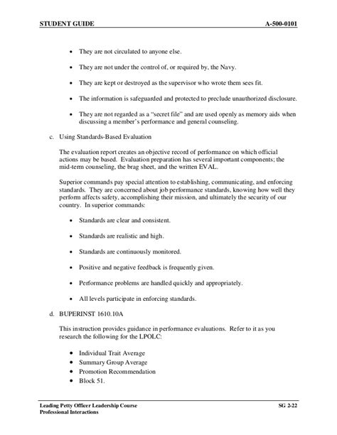 brag sheet template a 500 0101 chapter 2 lpo leadership course sg
