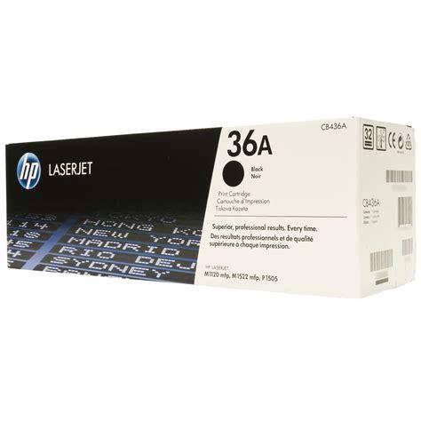Hp Toner 36a t 243 ner hp 36a negro laserjet p1505 2000 pag cb436a