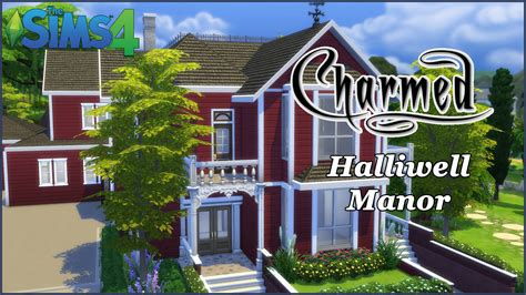 House Floorplans by The Sims 4 Halliwell Manor Charmed Part 1 House Build