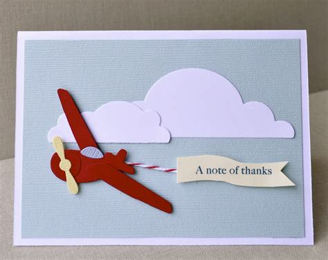 luck card paper airplane template reserved listing for acogburn1 airplane thank you folded