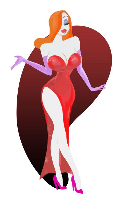 jessica rabbit 2 by madwurmz on deviantart
