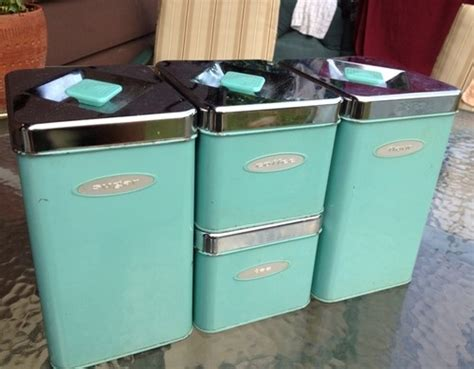 tiffany blue canisters and martha stewart on pinterest tiffany blue kitchen decor