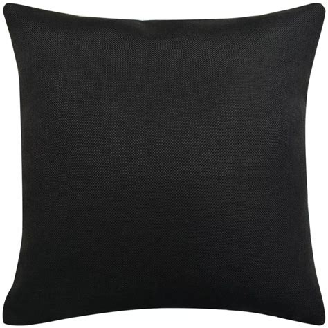 Cushion Cover 40x40 Cm vidaxl cushion covers 4 pcs linen look black 40x40 cm vidaxl co uk