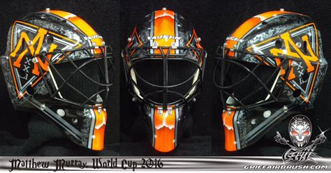 Cup Designs matt murray reveals new mask for world cup of hockey