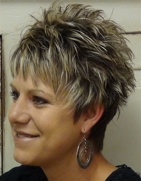 spikey hairstyles for women over 50 spiked haircuts for women over 50 short hairstyle 2013