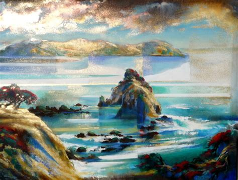 acrylic paint new zealand harold coop new zealand landscape paintings and