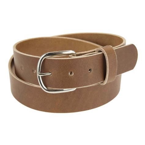 Handmade Belt - genuine buffalo leather belt 1 1 4 quot wide amish handmade