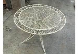 tavolo da giardino in ferro battuto tavolo in ferro battuto da giardino 187 acquista tavoli in