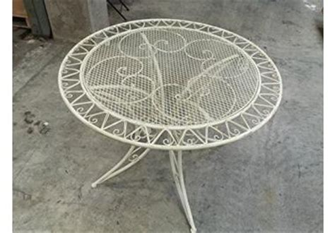 tavoli da giardino in ferro battuto prezzi tavolo in ferro battuto da giardino 187 acquista tavoli in