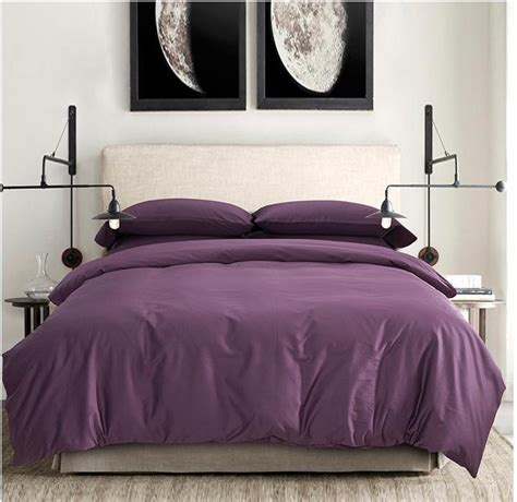purple queen size bedding 100 egyptian cotton sheets dark deep purple bedding sets
