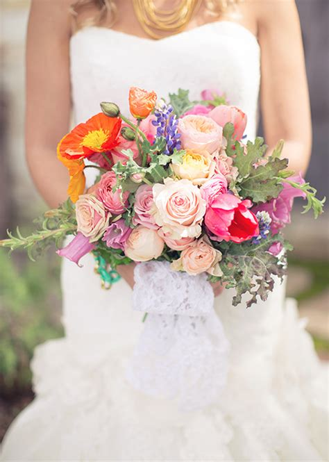 vibrant spring wedding ideas wedding inspiration 100