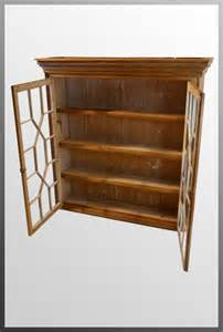 antique pine cabinet for sale antique pine bookcase display wall cabinet antiques atlas