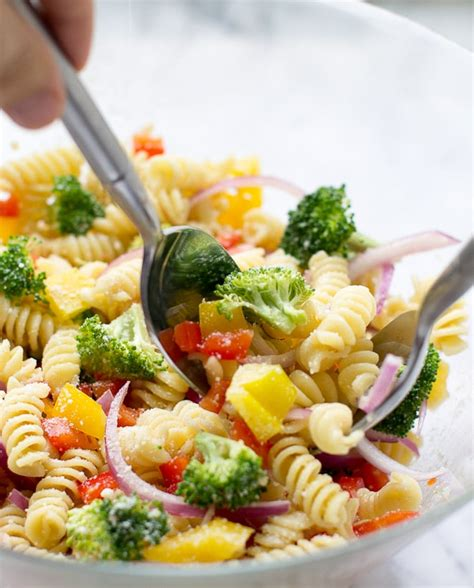 pasta salad with rotini rotini pasta salad www pixshark com images galleries